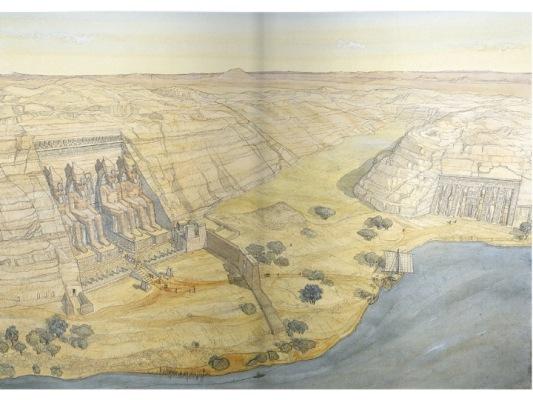 Imagen Abu Simbel baja